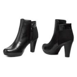 Geox Respira Inspiration black ankle boots 38